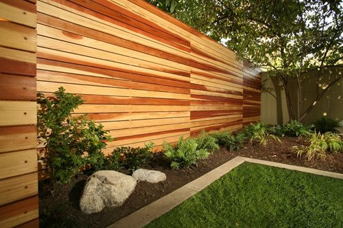 Fence Pictures For Backyard  Modern Fencing & Walls Landscaping Network