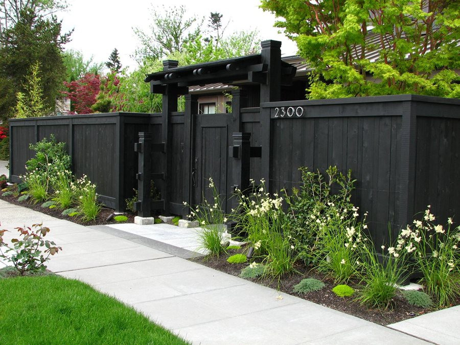 Fence Pictures For Backyard  Landscape Fence Ideas and Gates Landscaping Network