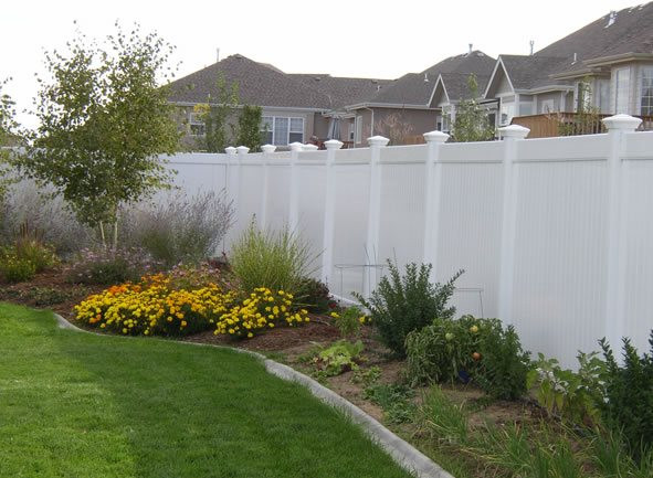 Fence Pictures For Backyard  Backyard Fencing Ideas Landscaping Network