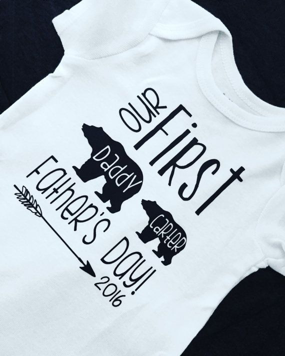 First Father'S Day Gift Ideas From Baby Boy  First Father s Day Baby boy Little brother by