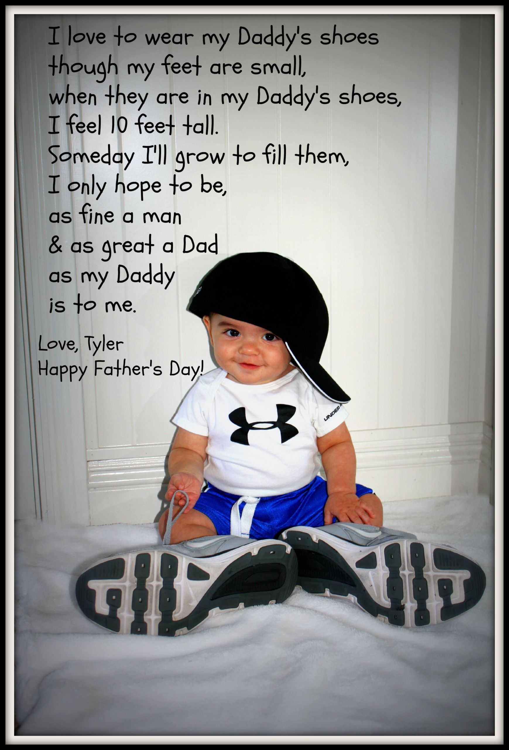 First Father'S Day Gift Ideas From Baby Boy  DIY Father s Day Gift Use your hubby s shoes and