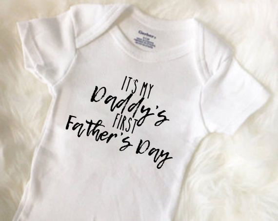 First Father'S Day Gift Ideas From Baby Boy  First Father s Day Daddy Reveal Idea Gift for daddy from