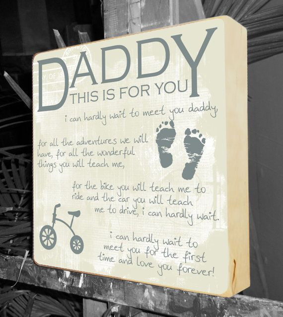 First Father'S Day Gift Ideas From Baby Boy  New Dad Gifts Gifts for New Parents Baby by
