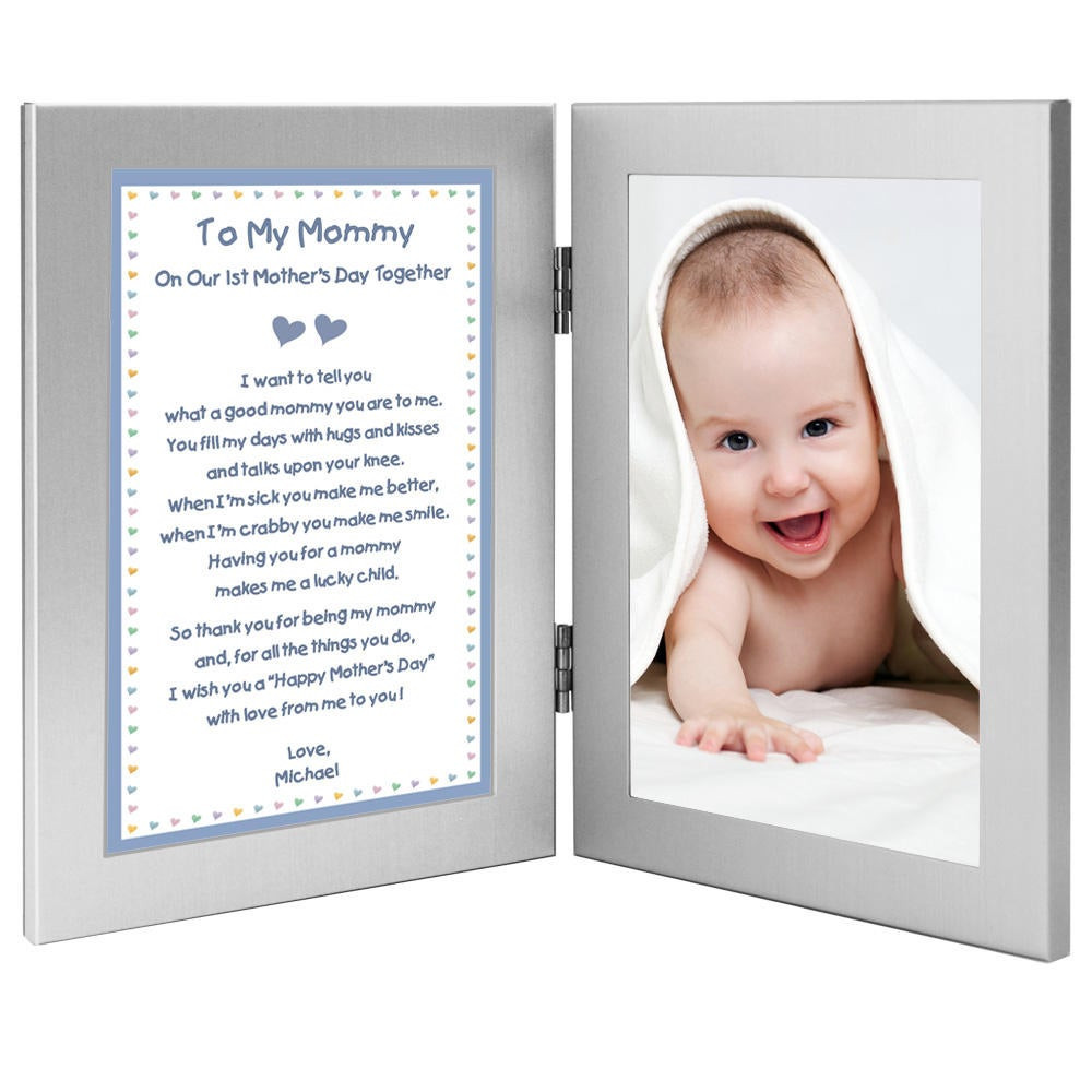 First Father'S Day Gift Ideas From Baby Boy  Our 1st Mother s Day To her Poem from Son to Mom