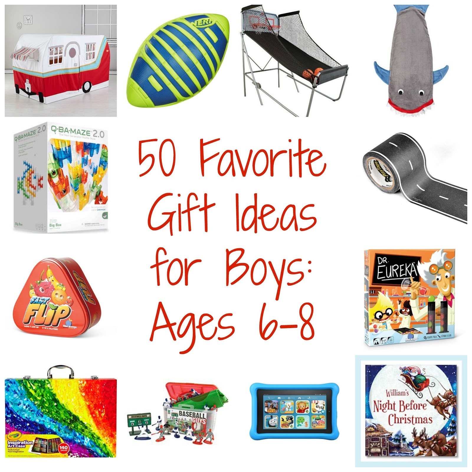 First Father'S Day Gift Ideas From Baby Boy  50 Favorite Gift Ideas for Boys Ages 6 8 The Chirping Moms