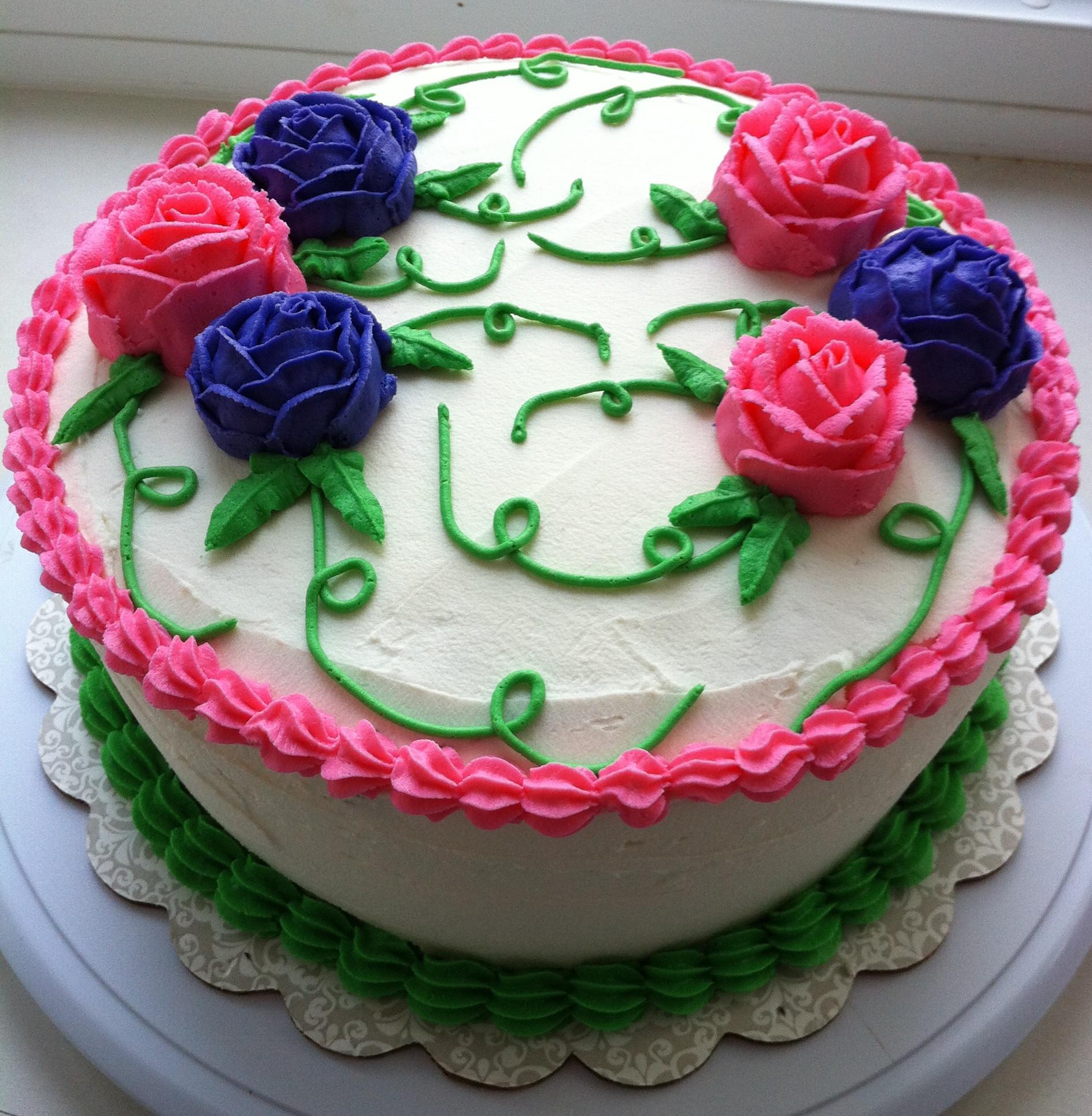 Flowers Birthday Cake  Flower Cakes – Decoration Ideas
