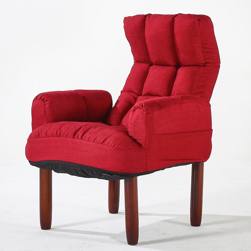 Folding Living Room Chairs  Modern Upholstery Fabric Sofa Armchair Living Room
