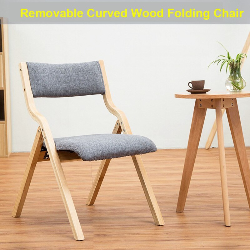 Folding Living Room Chairs  YN52 Folding Chair Removable Seat cover washable Living