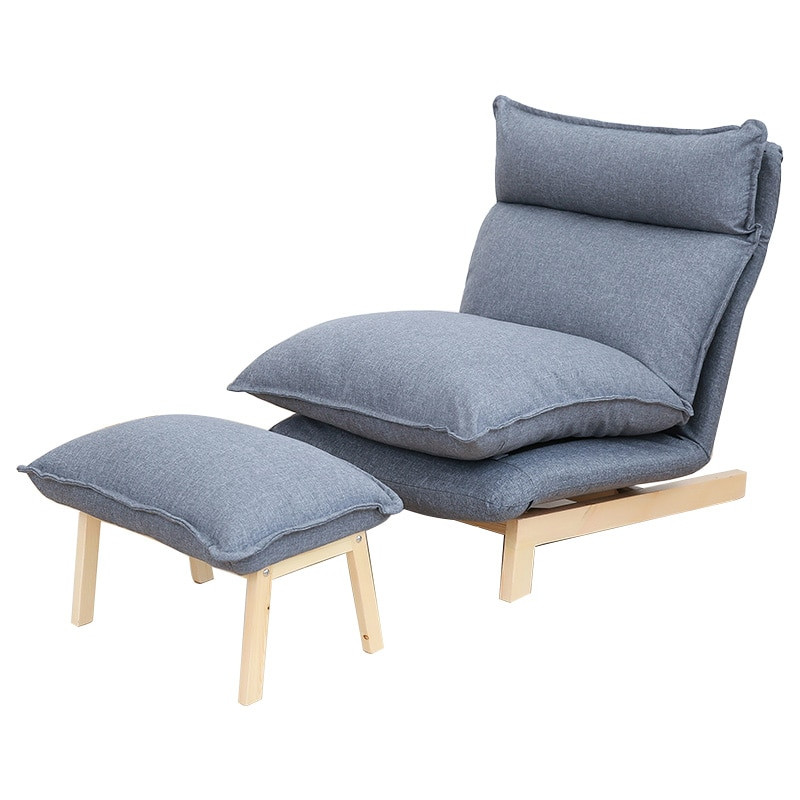 Folding Living Room Chairs  Contemporary Folding Lazy Sofa Chair Japanese Style