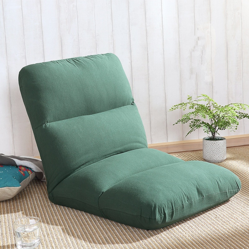 Folding Living Room Chairs  Japanese Floor Chair Lightweight Portable 5 Angle