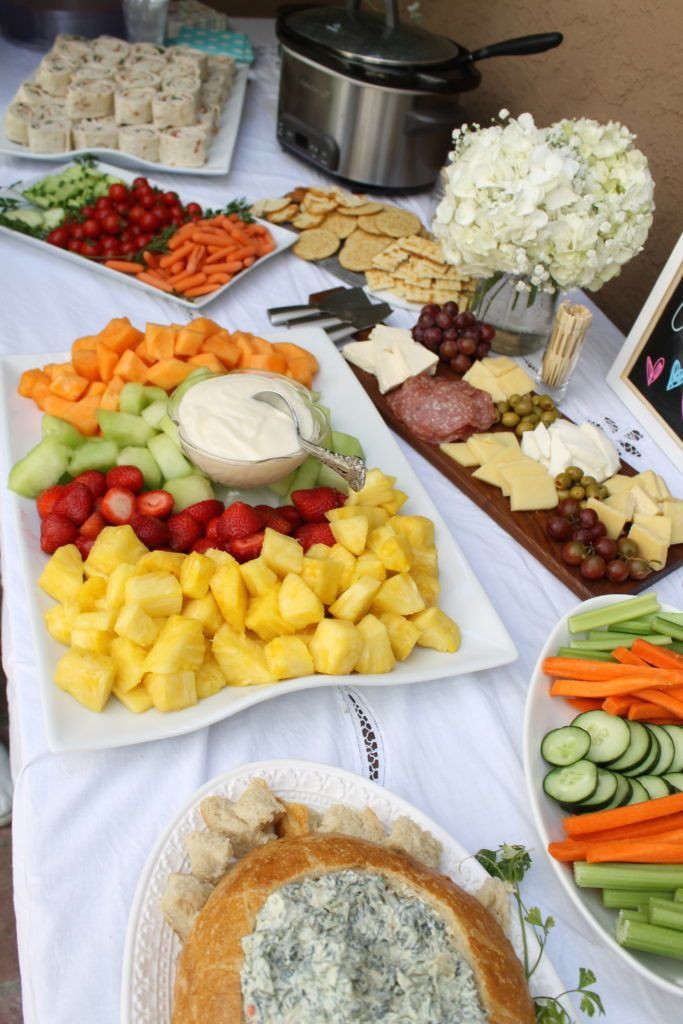 Food Ideas For Baby Gender Reveal Party  Gender Reveal Party