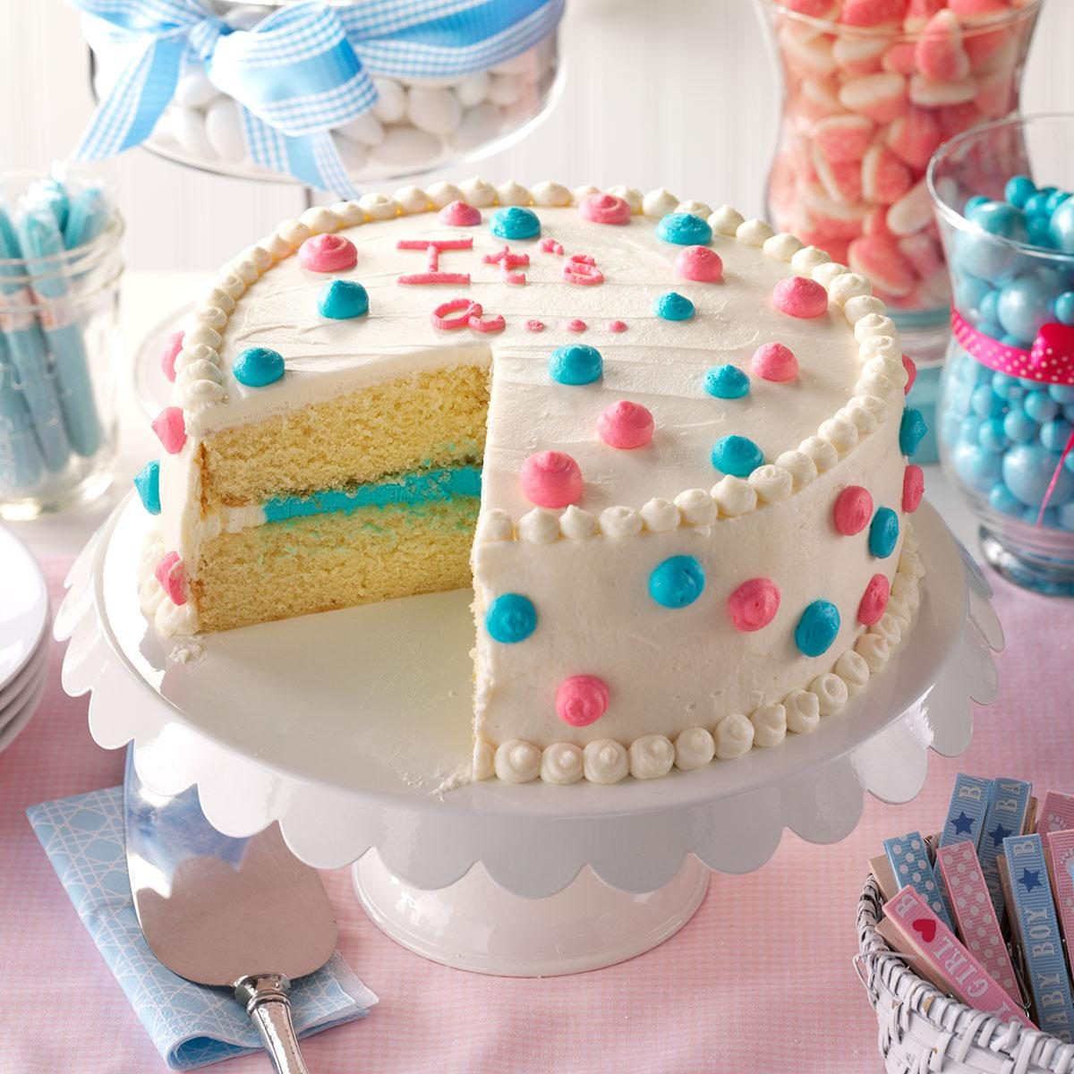Food Ideas For Baby Gender Reveal Party  The Cutest Gender Reveal Party Food Ideas