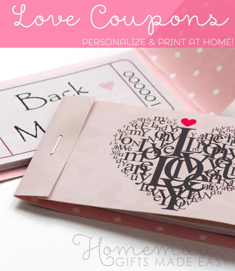 Free Gift Ideas For Boyfriend  Best Homemade Boyfriend Gift Ideas Romantic Cute and