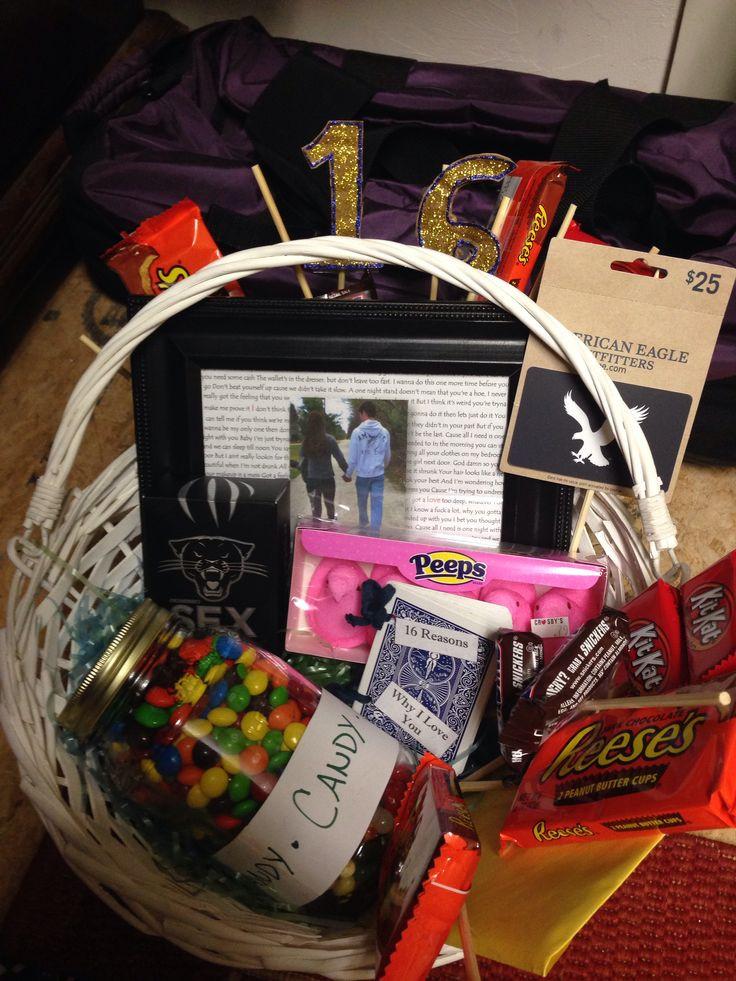 Free Gift Ideas For Boyfriend  My boyfriend s 16th birthday present
