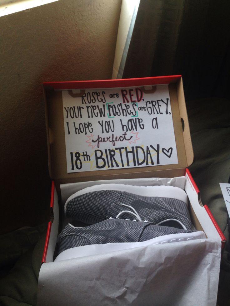 Free Gift Ideas For Boyfriend  Cute birthday present idea