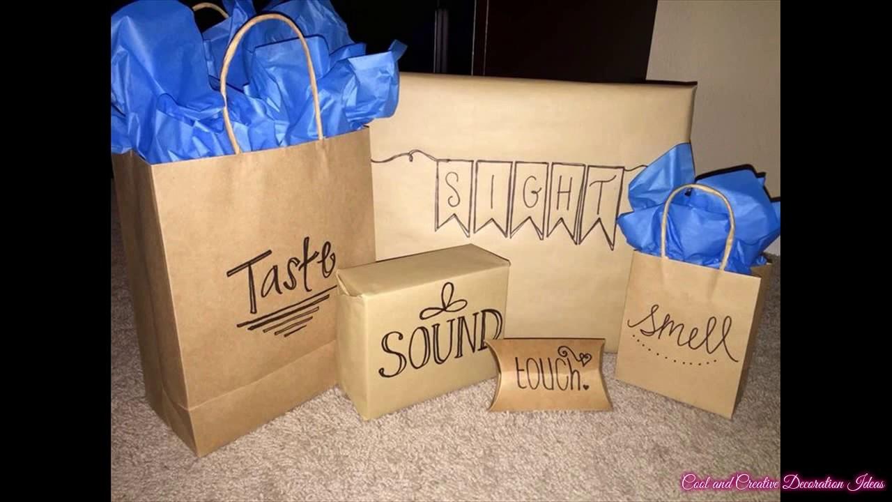 Free Gift Ideas For Boyfriend  Creative Homemade Gift Ideas Boyfriend