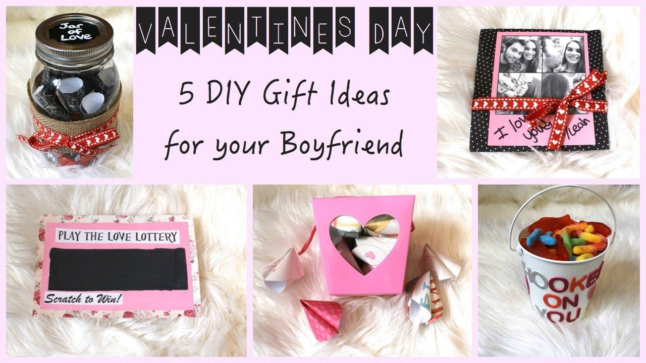 Free Gift Ideas For Boyfriend  5 DIY Gift Ideas for Your Boyfriend