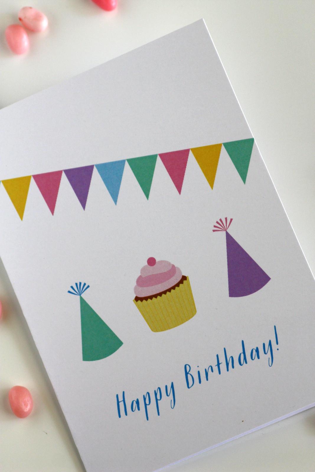 Free Printable Kids Birthday Cards  Download These Fun Free Printable Blank Birthday Cards Now