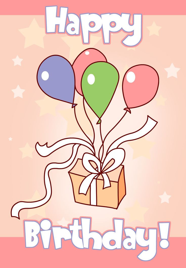 Free Printable Kids Birthday Cards  138 best images about Birthday Cards on Pinterest
