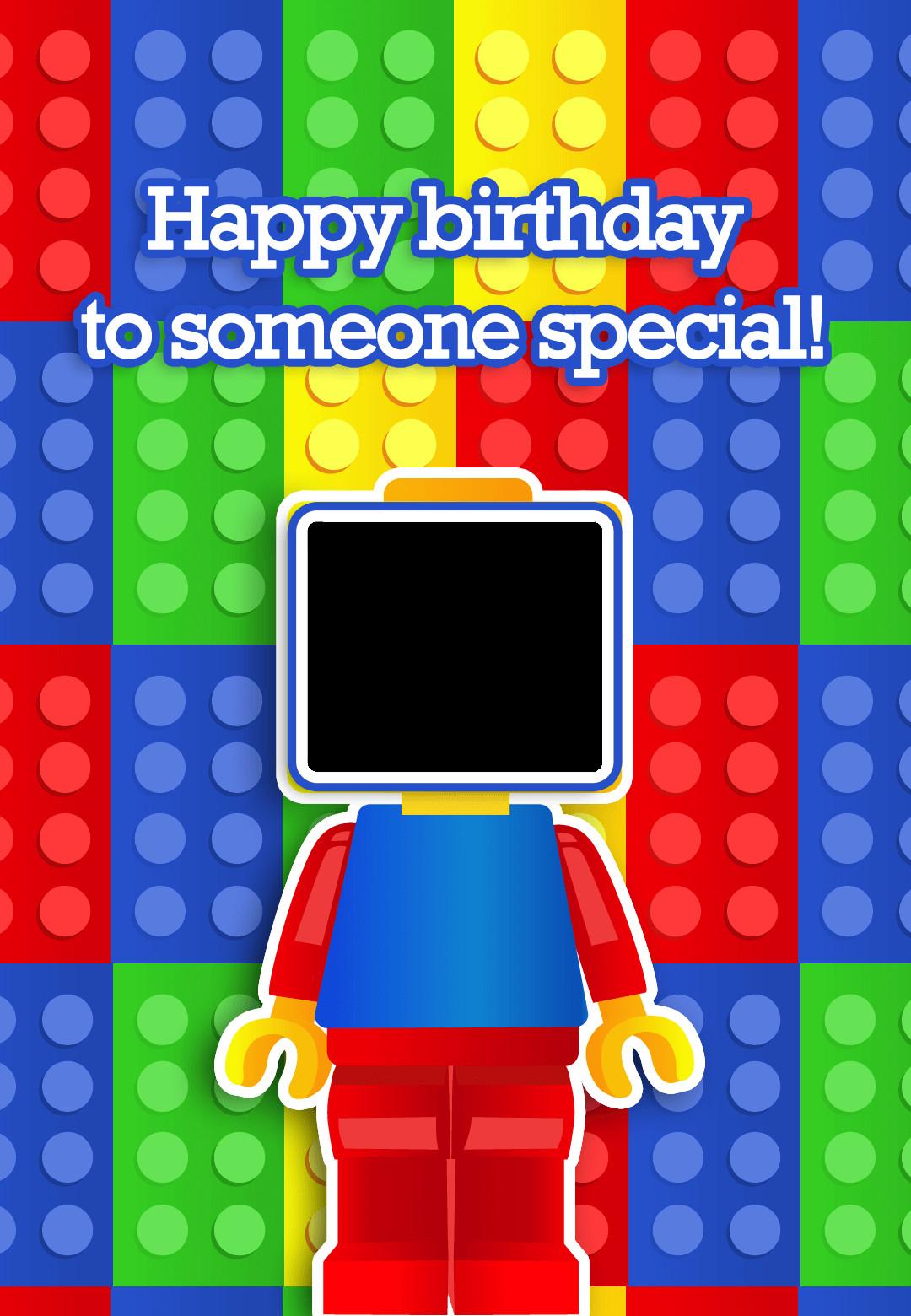 Free Printable Kids Birthday Cards  To Someone Special Birthday Card Free