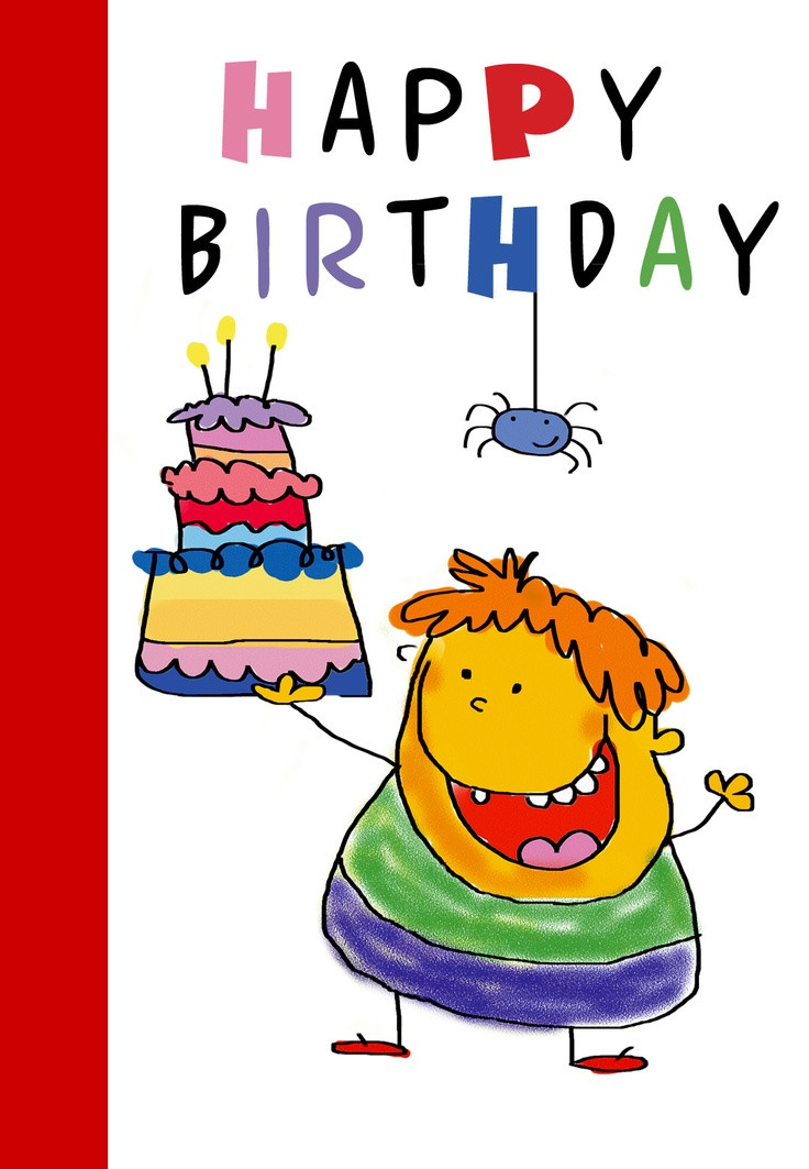 Free Printable Kids Birthday Cards  139 best Birthday Cards images on Pinterest