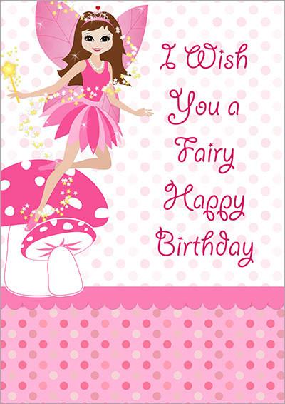 Free Printable Kids Birthday Cards  Printable Kids Birthday Cards