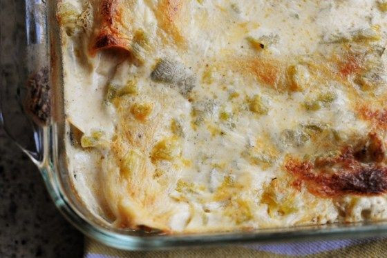 Freezer Enchiladas Pioneer Woman  White Chicken Enchiladas Recipe