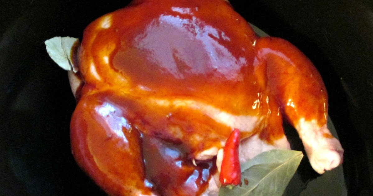 Frozen Whole Chicken In Slow Cooker  Just my Stuff Frozen Whole Chicken in the Slow Cooker