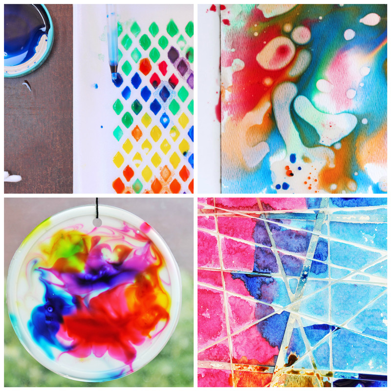 Fun Art Activities For Kids  12 Easy Art Ideas for Kids Babble Dabble Do