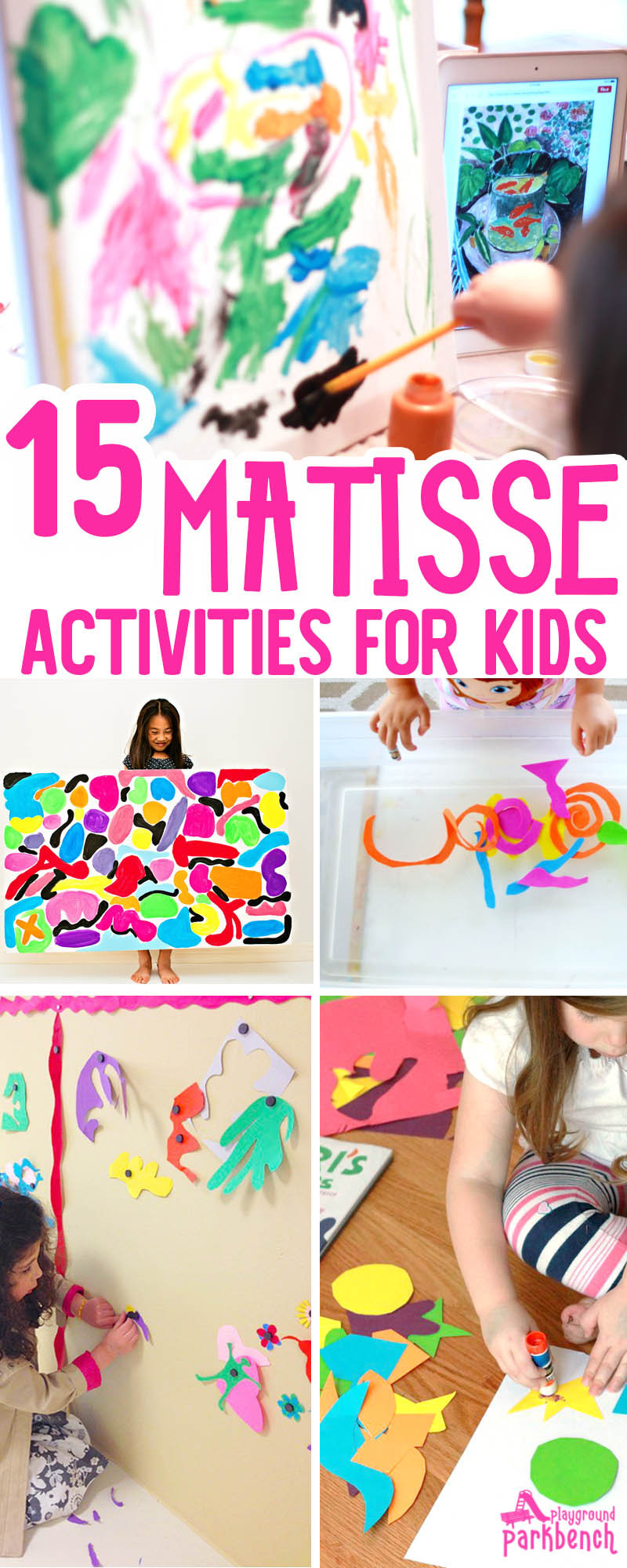 Fun Art Activities For Kids  15 Vibrant Matisse Art Projects for Kids That Really Wow