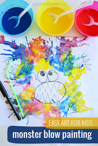 Fun Art Activities For Kids  20 easy art projects for kids that turn out AMAZING It