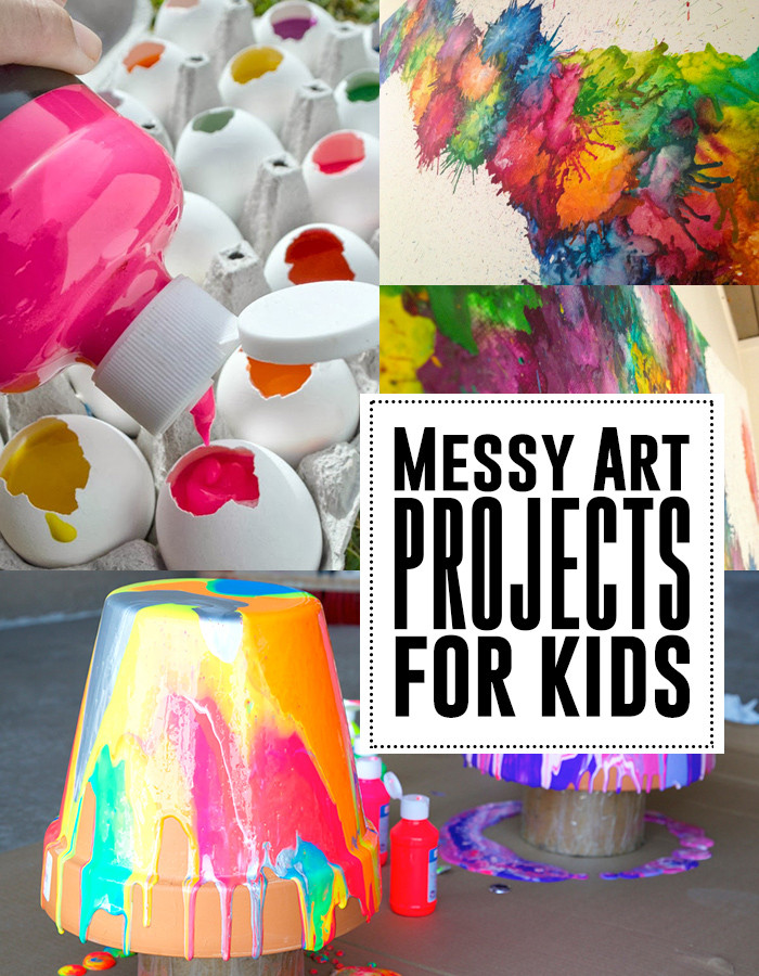 Fun Art Activities For Kids  The best messy art projects for kids Andrea s Notebook