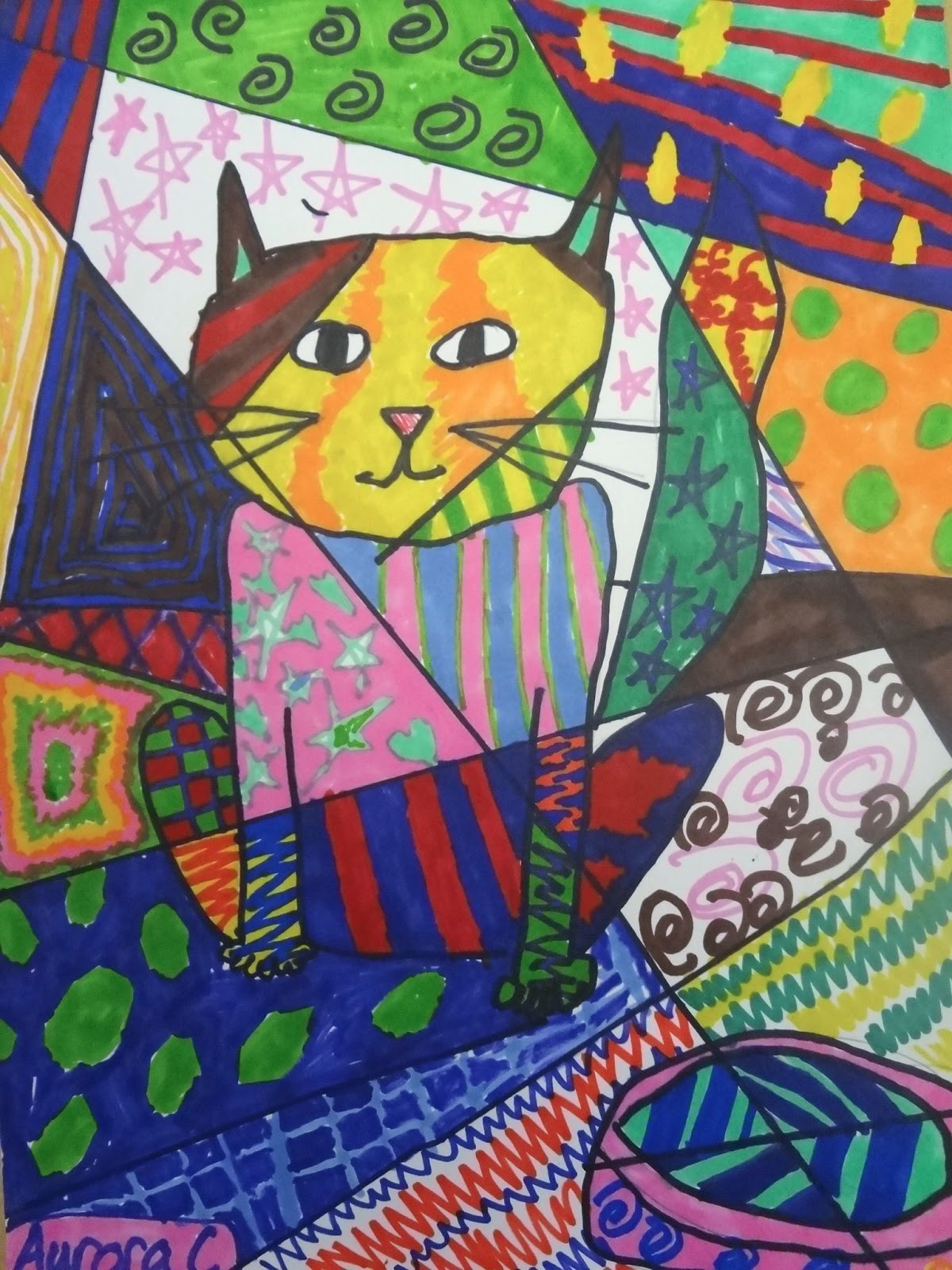 Fun Art Activities For Kids  The Talking Walls Romero Britto Art Lesson for Kids