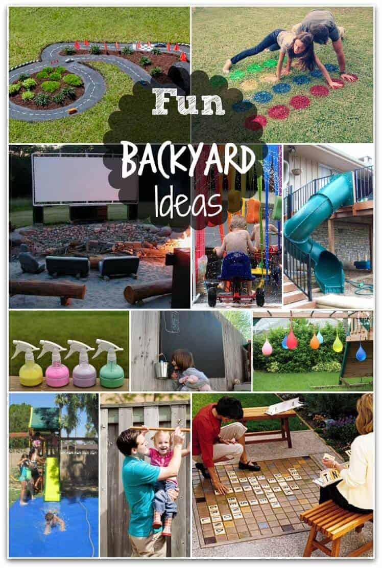 Funny Backyard Games  Fun Backyard Ideas these DIY ideas will make summertime