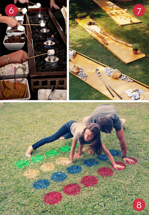 Funny Backyard Games  Roundup 10 Fun DIY Backyard Entertainment Ideas Curbly