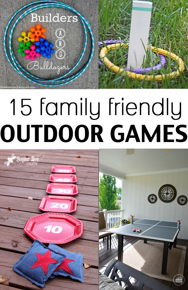Funny Backyard Games  15 family friendly outdoor games