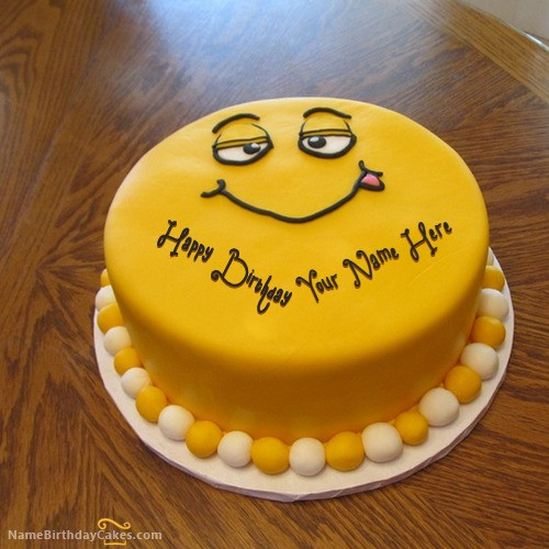 Funny Birthday Cakes Images  Funny Cake for Kids With Name