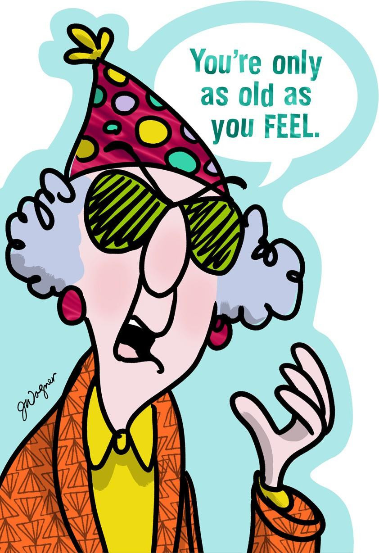 Funny Birthday Cards To Print  Feeling Old Funny Birthday Card Greeting Cards Hallmark