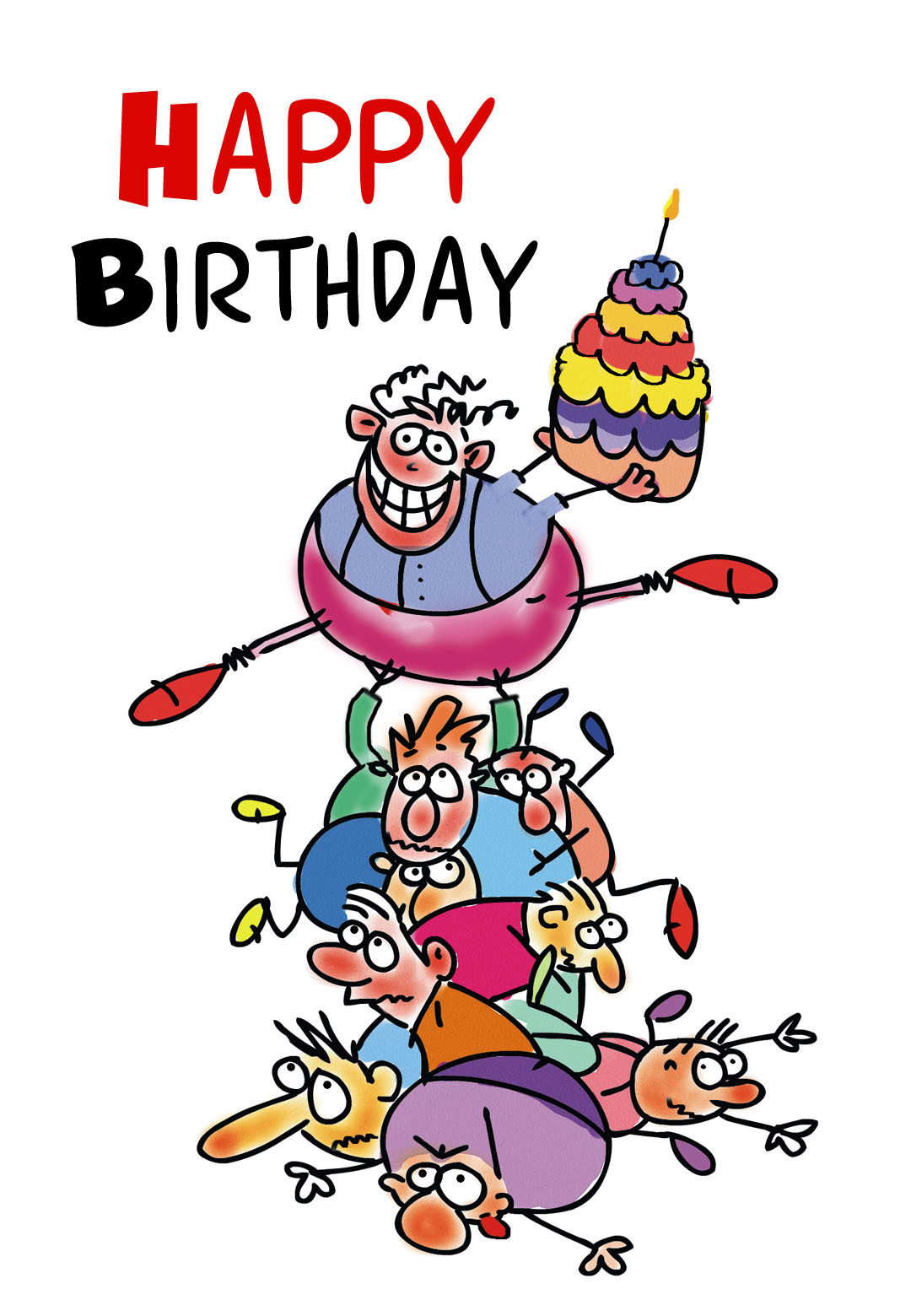 Funny Birthday Cards To Print  Funny Birthday Free Birthday Card