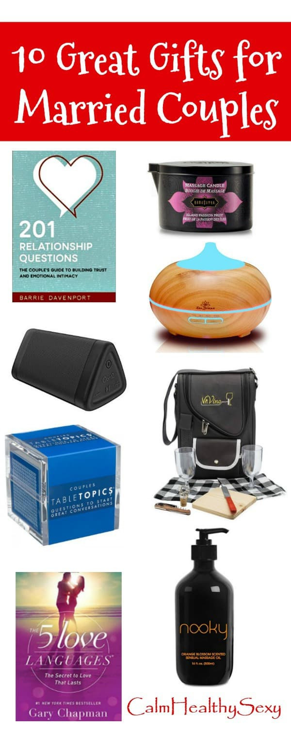 Funny Couples Gift Ideas  10 Great Gift Ideas for Married Couples Fun and Romantic