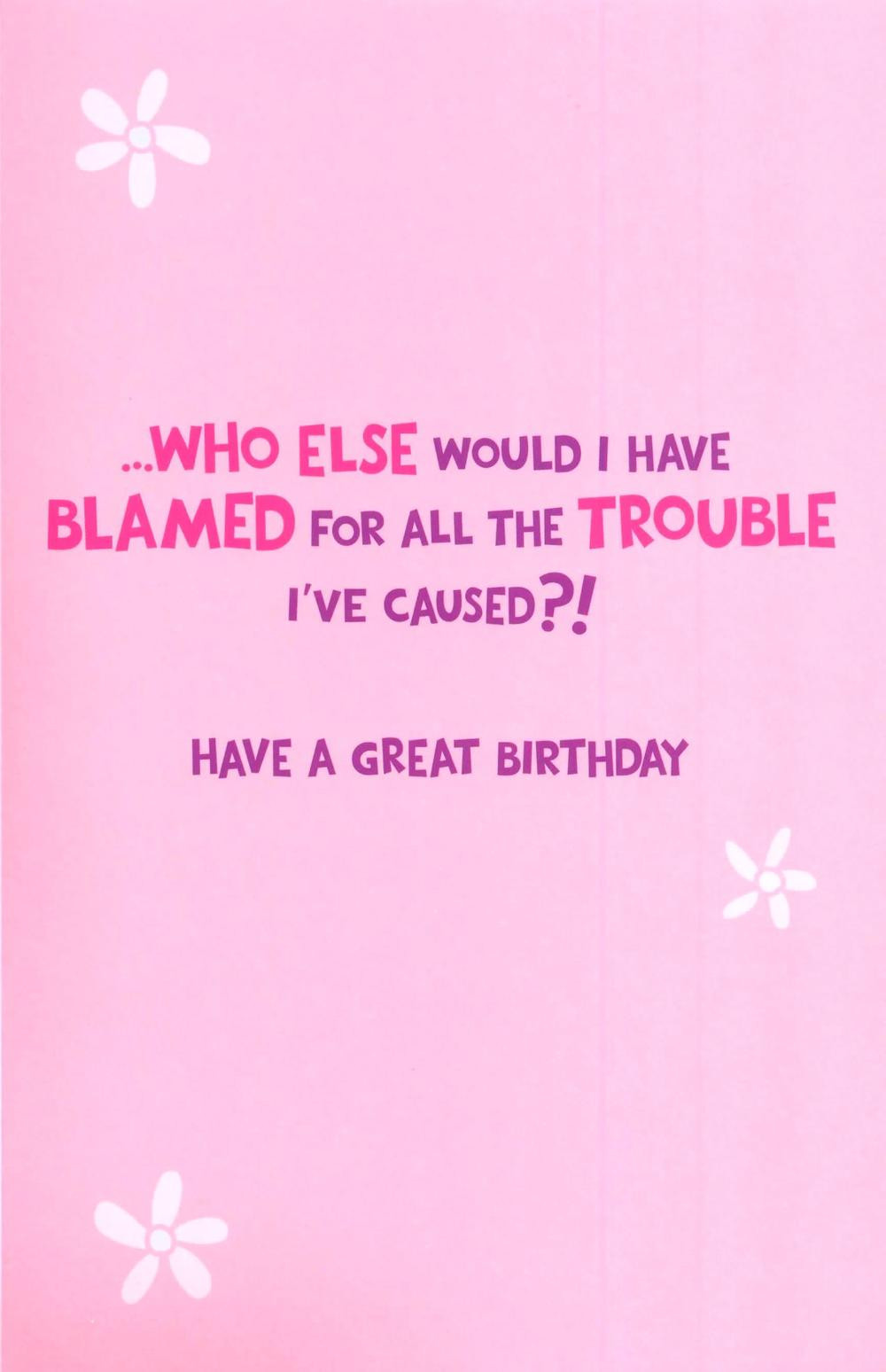 Funny Sister Birthday Wishes  Big Sister Birthday Quotes Funny QuotesGram