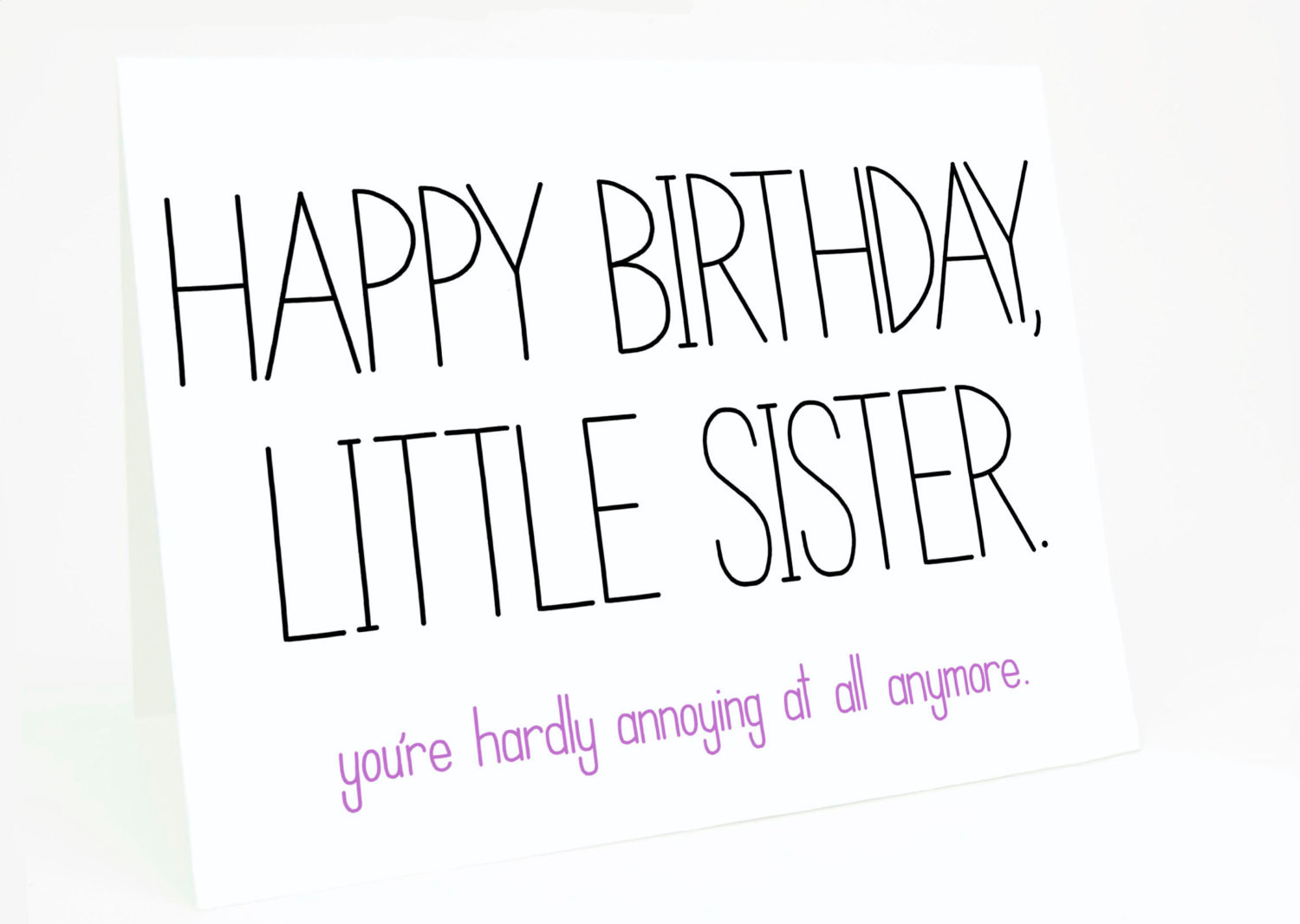 Funny Sister Birthday Wishes  Funny Sister Birthday Quotes And Sayings QuotesGram