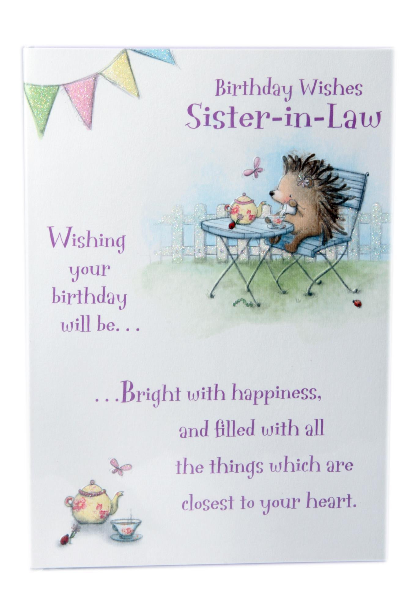 Funny Sister Birthday Wishes  Happy Birthday Sister In Law Quotes & Wishes