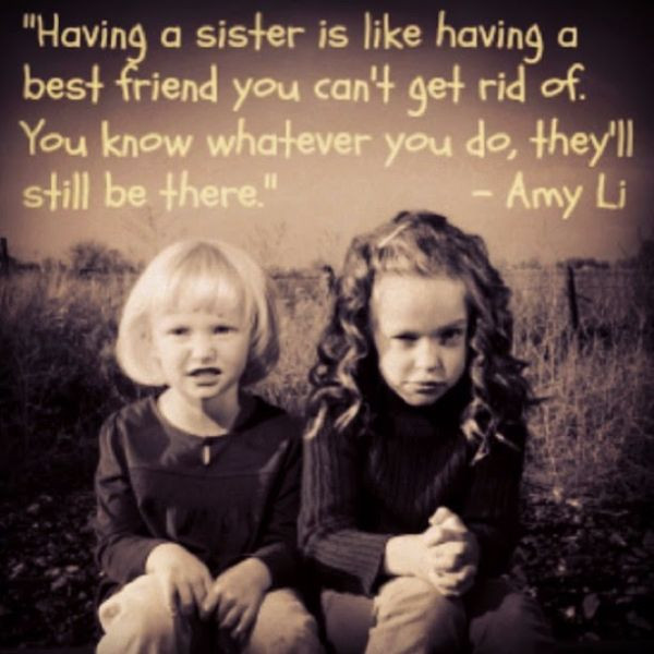 Funny Sister Birthday Wishes  The tilted view To my sister with love Sometimes it