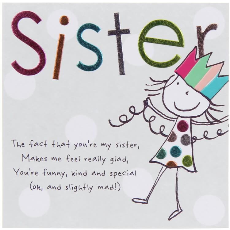 Funny Sister Birthday Wishes  TOP 200 Happy Birthday Wishes Quotes for Sister