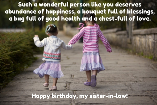 Funny Sister Birthday Wishes  Top 30 Birthday Quotes for Sister in Law with