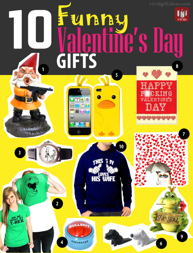 Funny Valentines Day Gifts  Funny Valentines Day Gifts 10 Funny Gifts Vivid s