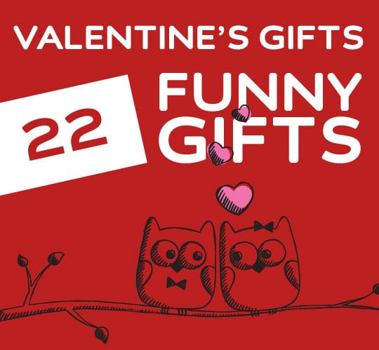 Funny Valentines Day Gifts  22 Funny Valentine s Day Gifts for Friends Crushes & Lovers