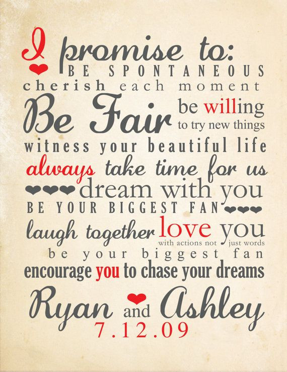 Funny Wedding Vows  Wedding Vows Will you go with traditional or write your
