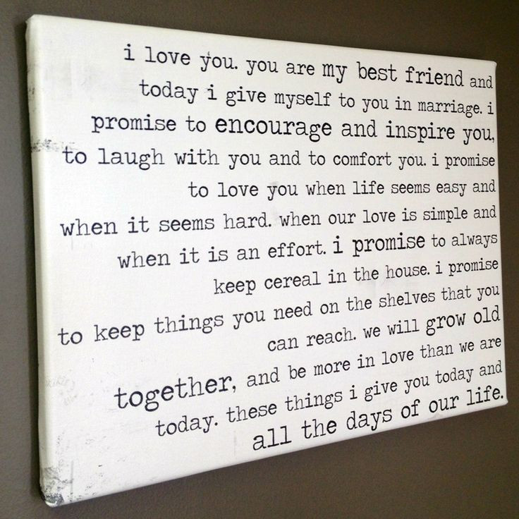 Funny Wedding Vows  36 best Vow images on Pinterest
